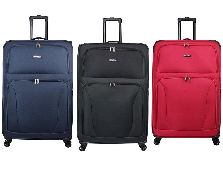 World Traveler Embarque 30-Inch Lightweight Spinner Suitcase