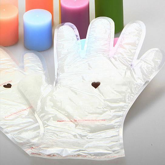 [1-Pair] Paraffin Wax Spa Glove Hand Treatment with Coconut Oil