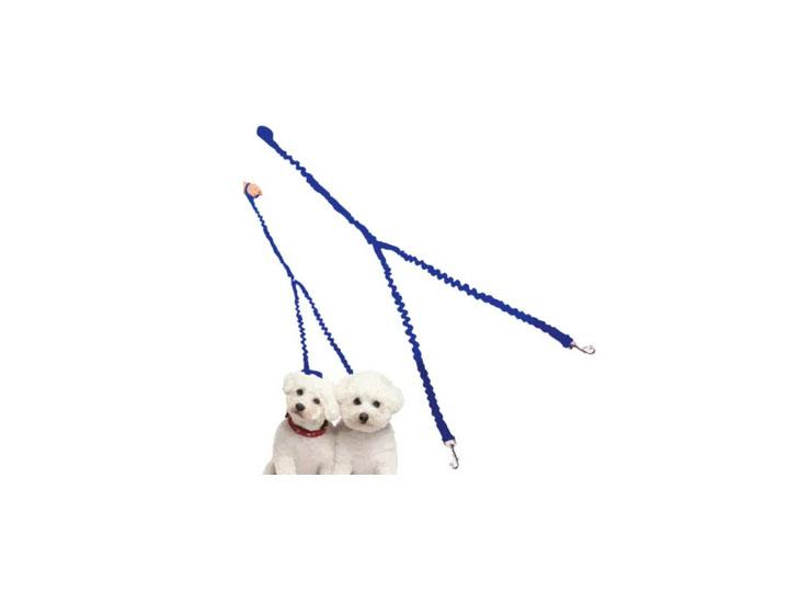 Daily Deals Waloo Pets Double Dog Bungee Dog Leash Pet Leashes