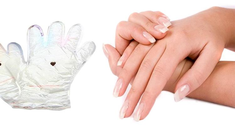 [1-Pair] Paraffin Wax Spa Glove Hand Treatment with Coconut Oil  - UntilGone.com