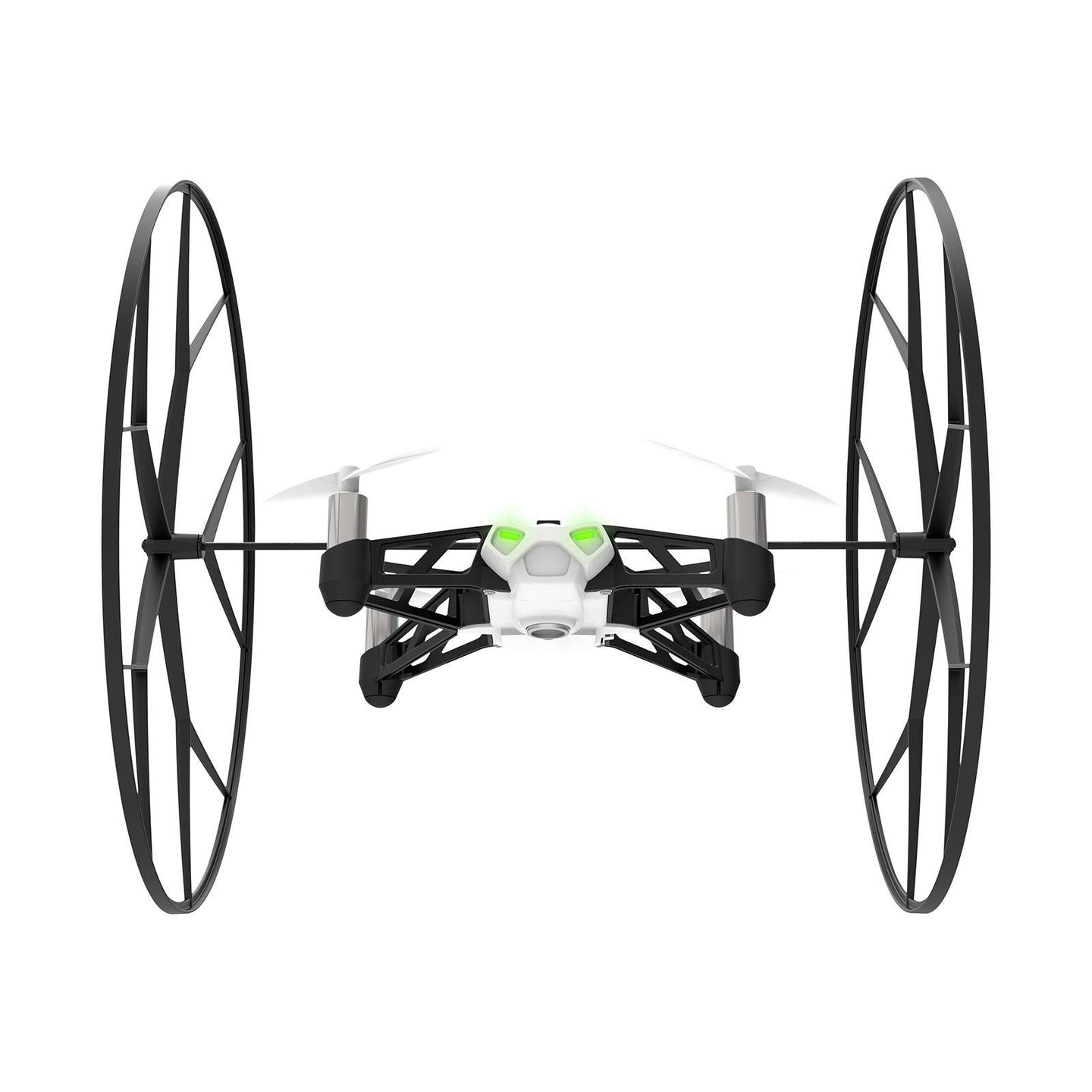 Parrot MiniDrones Rolling Spider Quadcopter with HD Camera Robotic Toys White