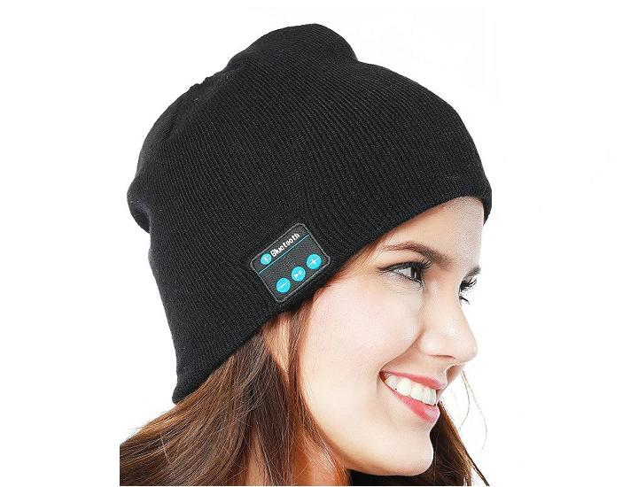 Daily Deals Wireless Bluetooth Beanie Hat with Built-in Headphones (1- or 2-Pack) Headphones & Headsets