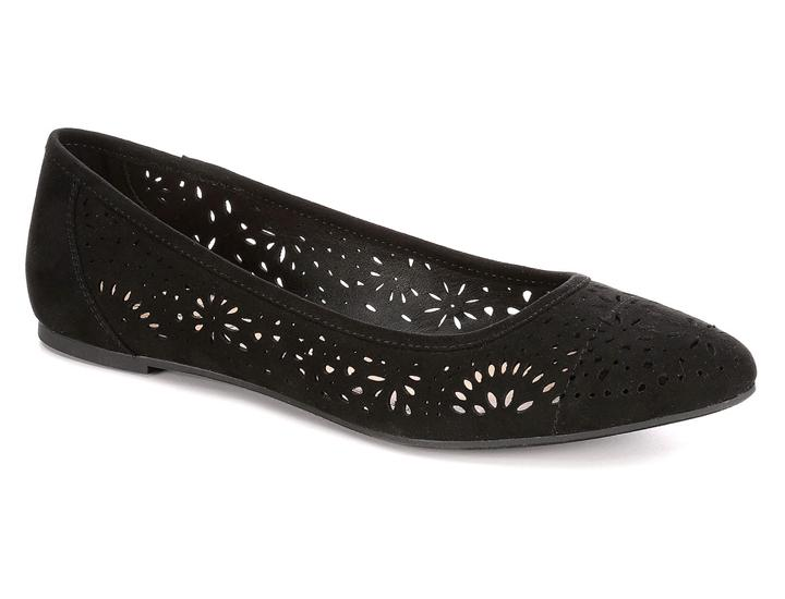 Daily Deals XAPPEAL Women's Adilene Perforated Slip On Flat Shoes Shoes