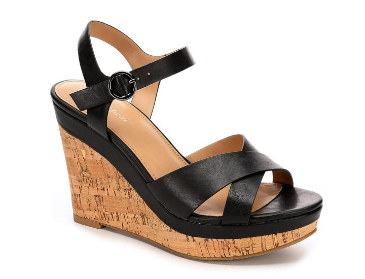 Daily Deals Xappeal Women's Kara Platform Wedge Sandals Shoes