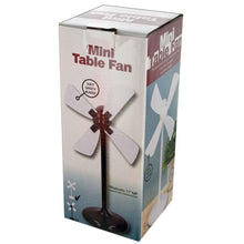 Mini Desk Fan with Soft Blades – USB or AAA Battery Powered  - UntilGone.com