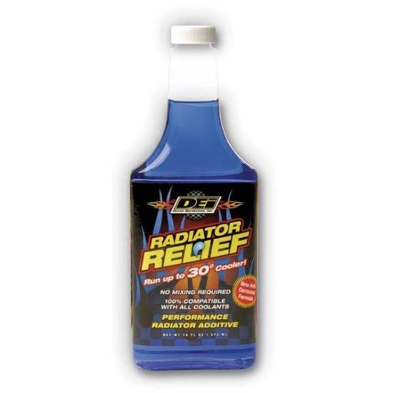DEi 040200 Radiator Relief Coolant Additive, 16 oz. Bottle