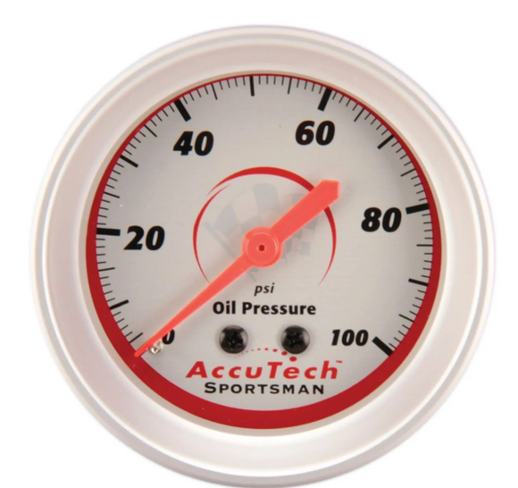 Longacre® 52-46511 AccuTech® Sportsman Oil Press. Gauge