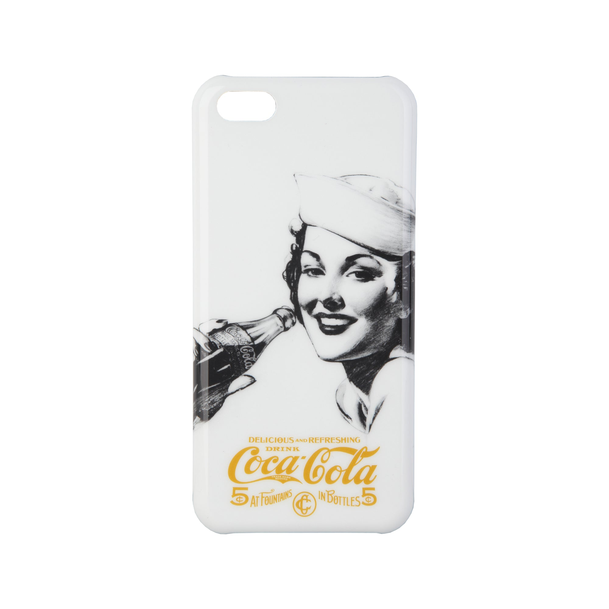 Coca Cola Unisex White Cases Mod. Cover | Wachoria