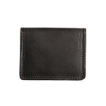 OLLIVETTE Black Leather Wallet
