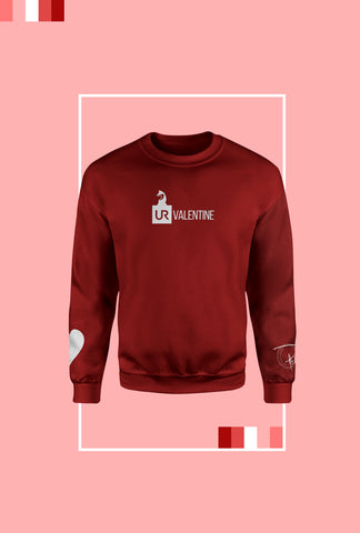 "URW ""Heart on UR Sleeve"" Sweatshirt"