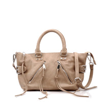 Women's Vegan Leather Satchel Style Handbag