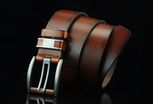"Unisex Belt in Black, Brown, and Coffee 43""/110cm"