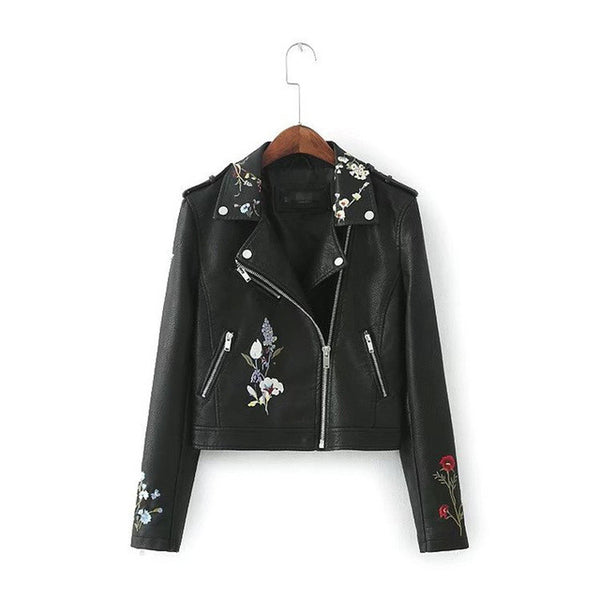 Vegan Women's Faux Leather Jacket