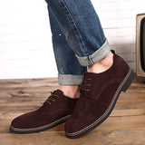 Oxford Faux Suede Shoe