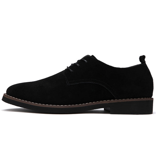 Oxford Faux Suede Leather Shoe