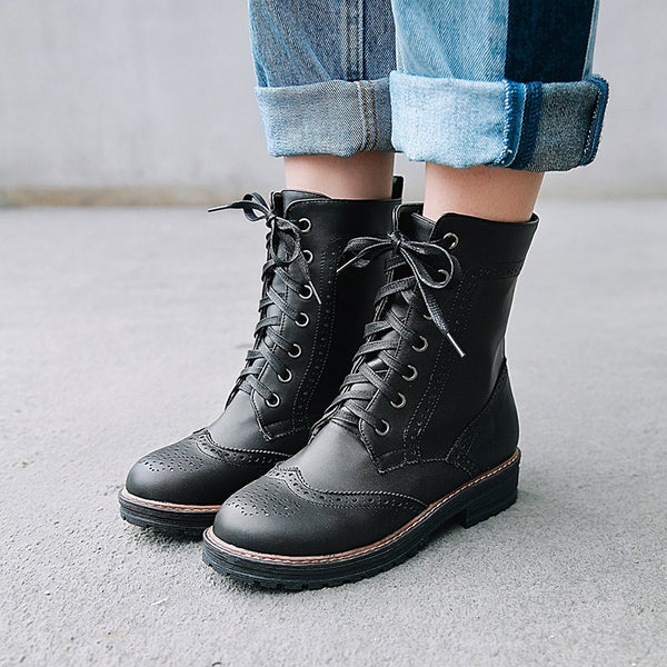 Women's Vegan Army Boots