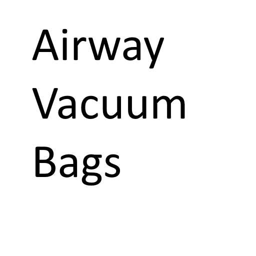 Airway Vacuum Cleaner Bags (Buy in bulk and save)