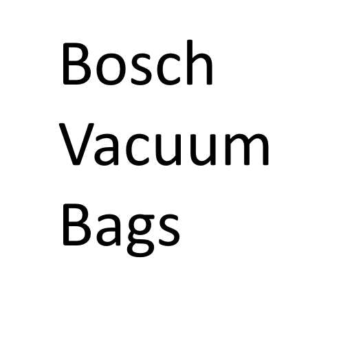 Bosch Vacuum Cleaner Bags (Genuine)