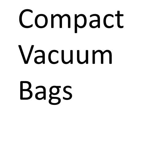 Compact Vacuum Cleaner Bags (Buy in bulk and save!)