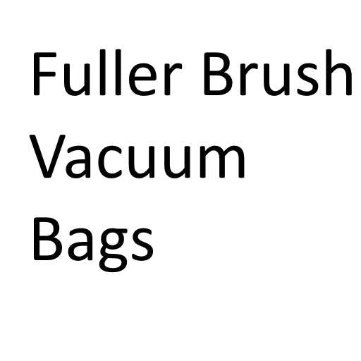 Fuller Brush Vacuum Cleaner Bags - Buy in bulk and save!
