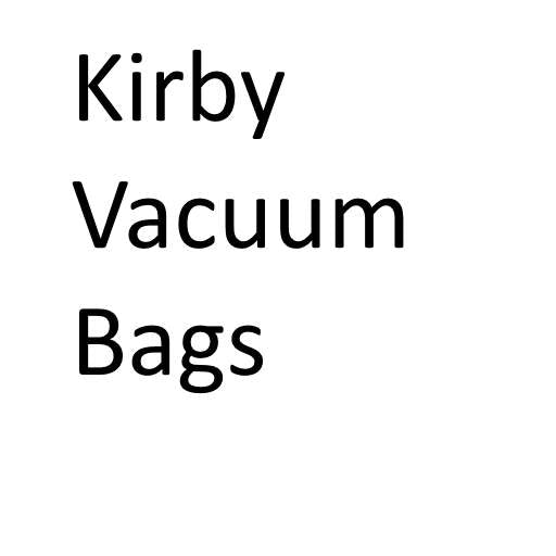 Kirby Vacuum Cleaner Bags (Buy in bulk and save!)