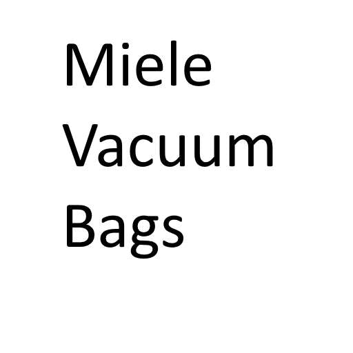 Miele Vacuum Cleaner Bags - FREE SHIPPING AVAILABLE