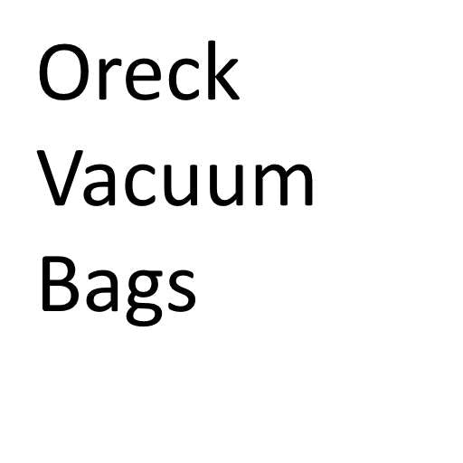 Oreck Vacuum Cleaner Bags - GENUINE - Buy in bulk and save!