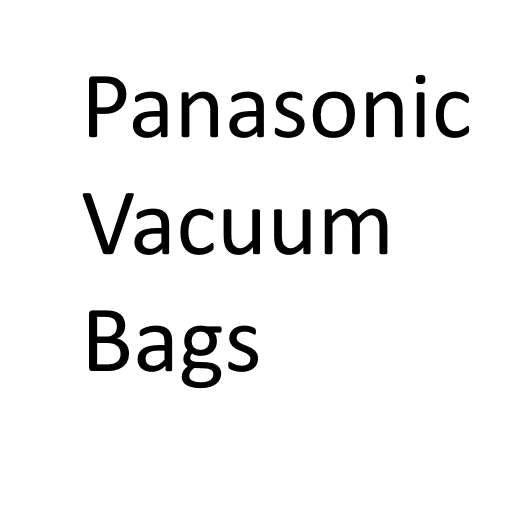 Panasonic Vacuum Cleaner Bags - Buy in bulk and save !