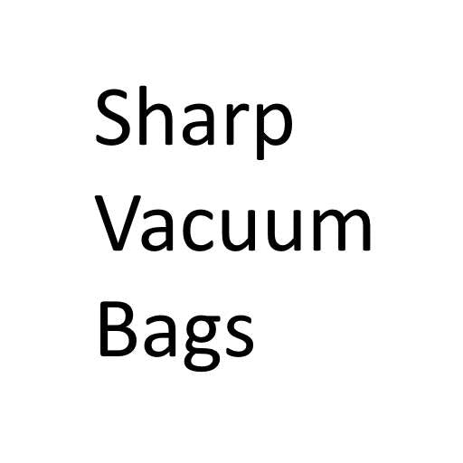 Sharp Vacuum Cleaner Bags