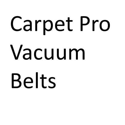 Carpet Pro Vacuum Belts - Buy in bulk and save!