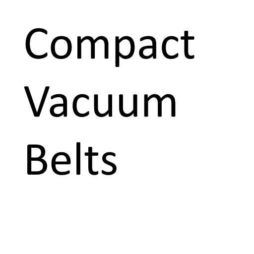 Compact Vacuum Cleaner Belts
