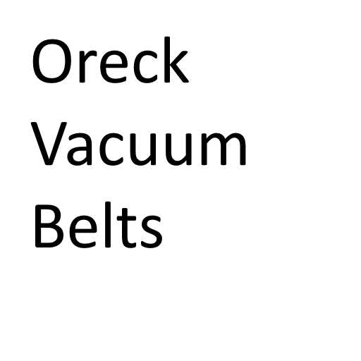 Oreck Vacuum Cleaner Belts