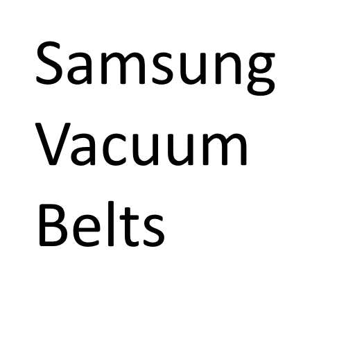 Samsung Vacuum Cleaner Belts - Buy in bulk and save!