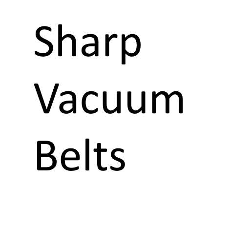Sharp Vacuum Cleaner Belts