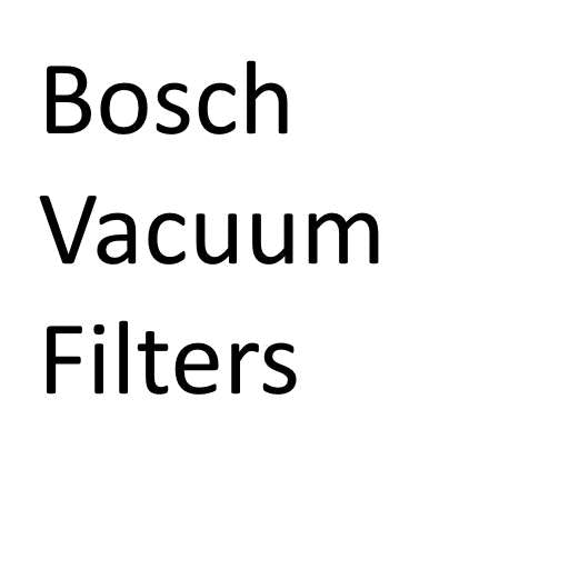 Bosch Vacuum Cleaner HEPA Filters
