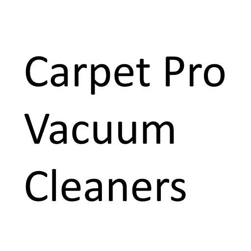Carpet Pro Vacuum Cleaners - FREE SHIPPING