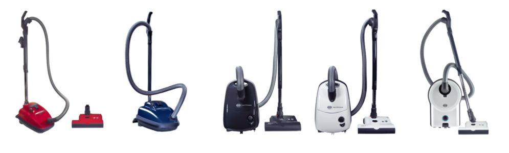 SEBO canister vacuums