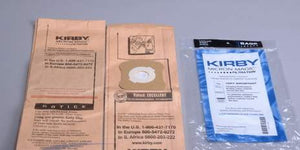 Kirby G4, G5, GSix Vacuum Bags ( 21 Bags Total) - FREE SHIPPING