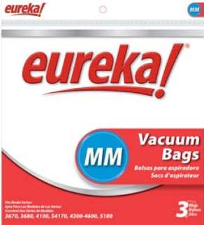 Eureka MM Vacuum Cleaner Bags (18 Bags)