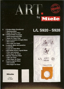 Miele L/L Vacuum Bags - GENUINE - Free Shipping Available
