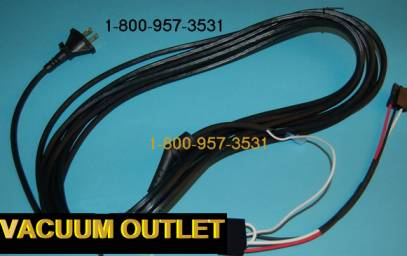Rainbow Power Cord - E-Series and E2 - (2 Speed Motor)