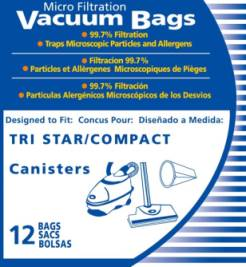 TriStar Vacuum Bags - Aftermarket - 48 Bags