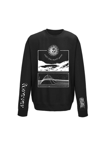 World Crewneck Sweatshirt - CYBRWRM