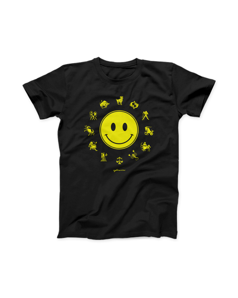 Smiley Zodiac Tee - CYBRWRM
