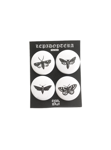 Lepidoptera Pin Pack - CYBRWRM