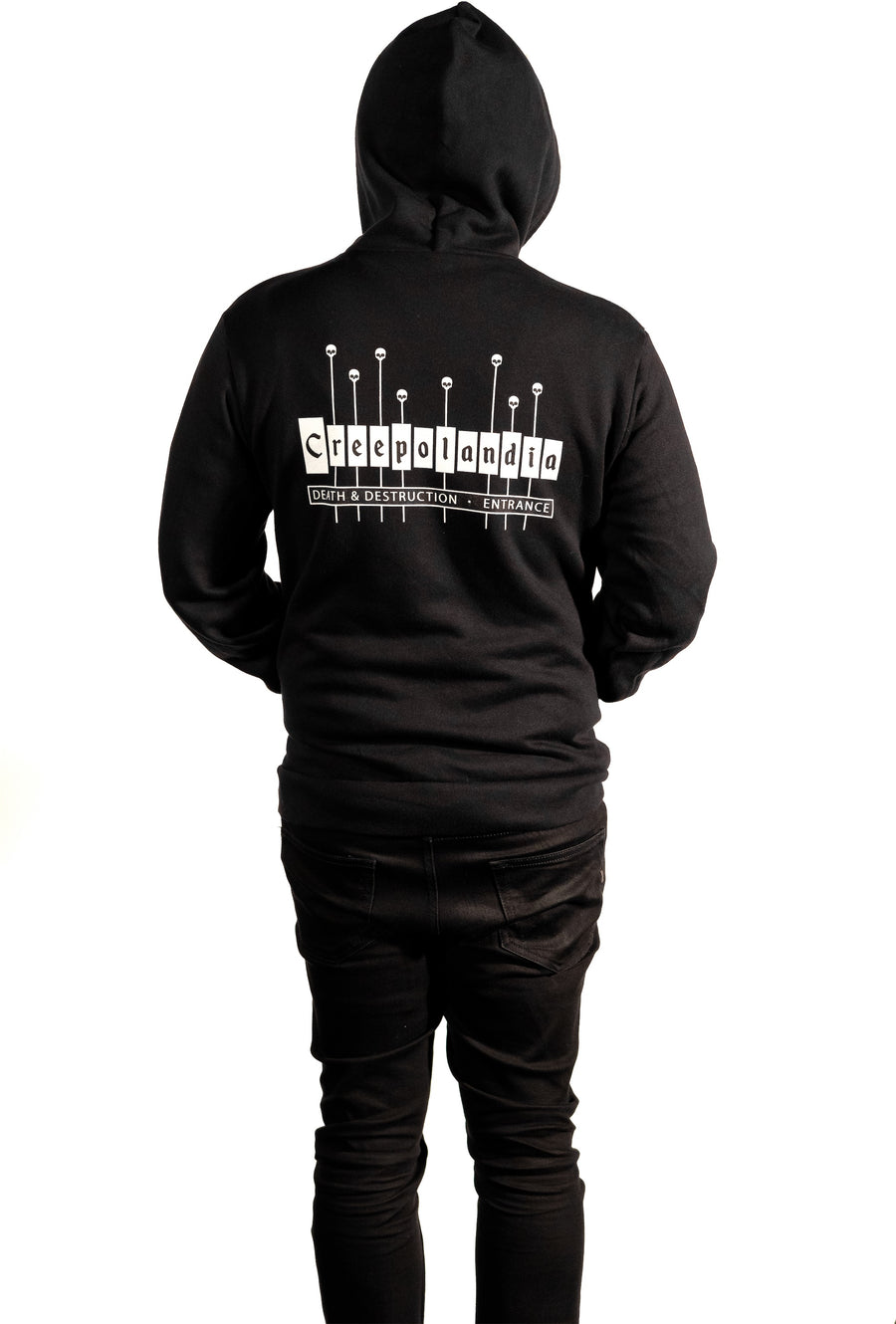 Creepolandia Entrance Zip-Up Hoodie