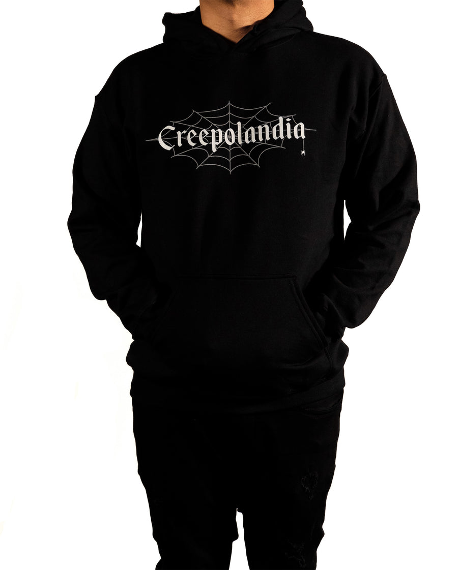 Creepolandia Web Hooded Sweatshirt