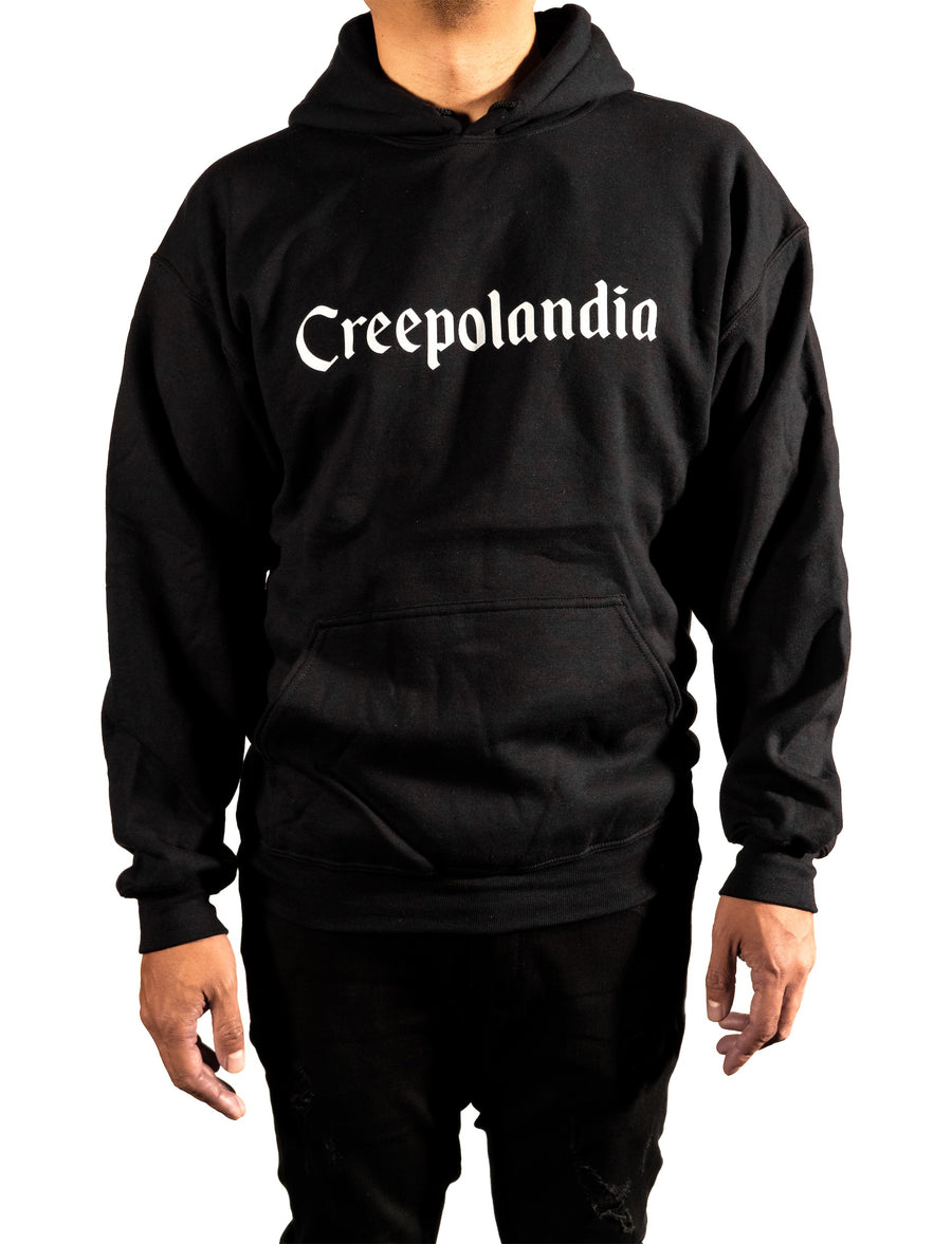 Creepolandia Font Hooded Sweatshirt