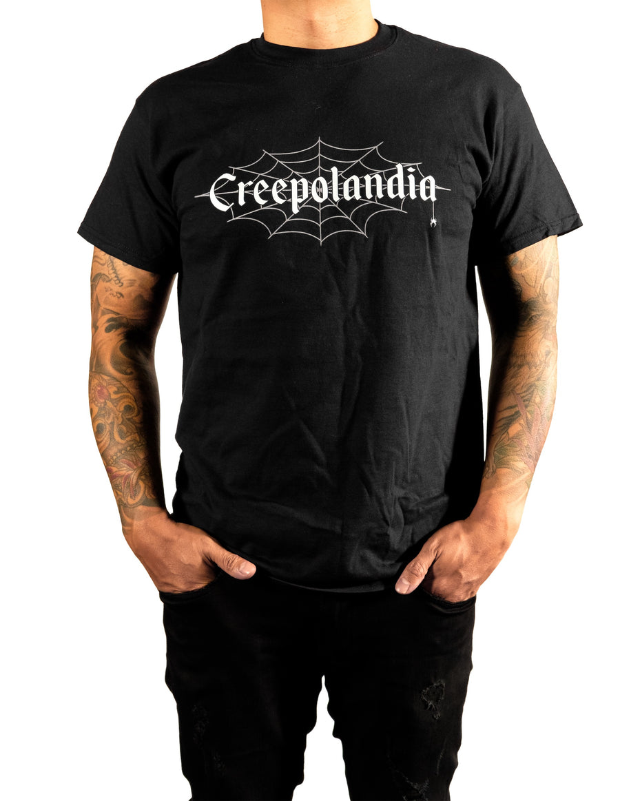 Creepolandia Web Soft Short-Sleeve T-Shirt