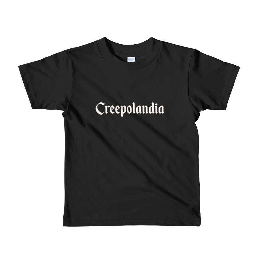 Creepolandia Short Sleeve Kids T-shirt